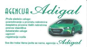 agencija Adigal nekretnine logo - roommateor